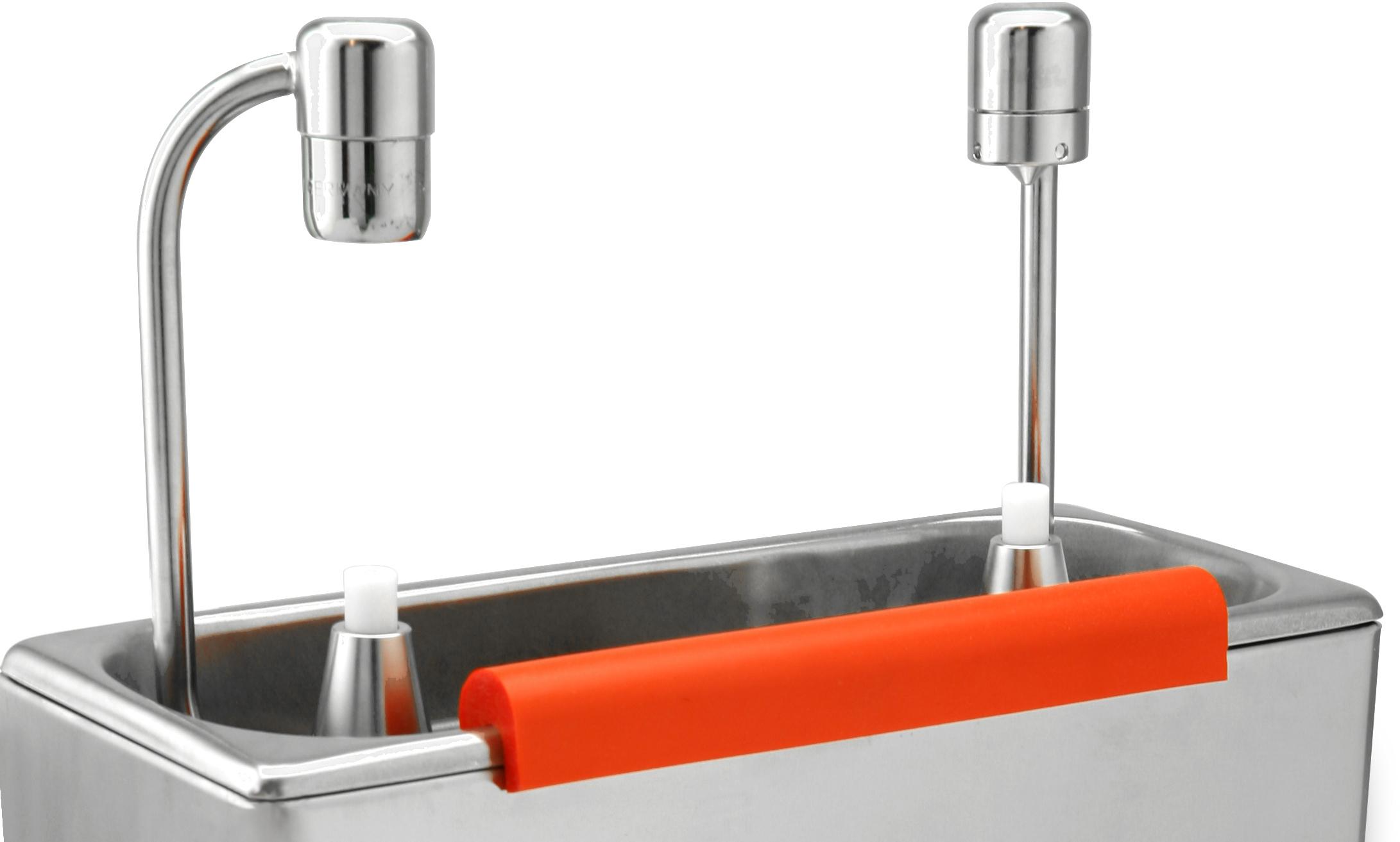 Portionierer trockner dusche geppetto eis